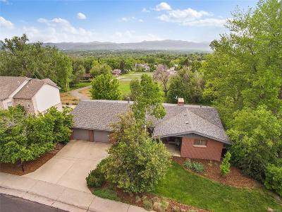 Arvada Single Family Home Under Contract: 6875 Estes Drive