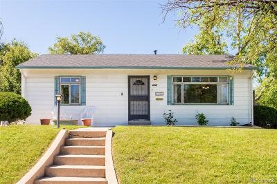 Denver Single Family Home Under Contract: 4798 West Byers Place