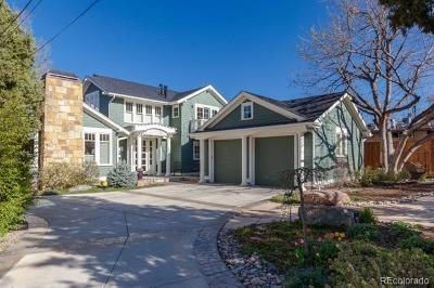 Boulder Single Family Home Active: 1228 7th Street