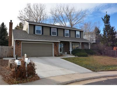 Littleton Single Family Home Active: 7191 South Lewis Way