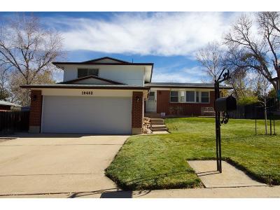 Northglenn Single Family Home Active: 10462 Sperry Street