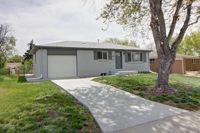 Broomfield CO Single Family Home Under Contract: $377,500