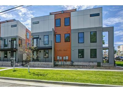 Denver Condo/Townhouse Under Contract: 3156 West 20th Avenue