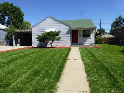 Single Family Home Sold: 1840 South Yuma Street