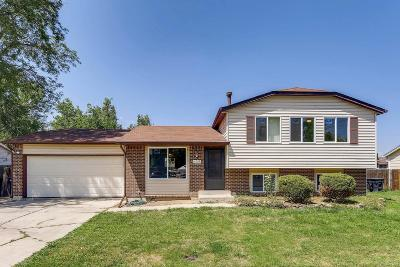 Thornton Single Family Home Under Contract: 11739 Ash Drive