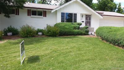 Centennial CO Single Family Home Active: $449,000