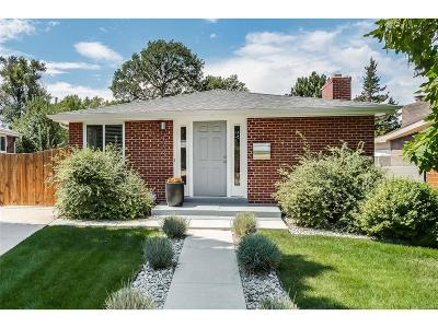 Denver Single Family Home Under Contract: 1533 South Hudson Street