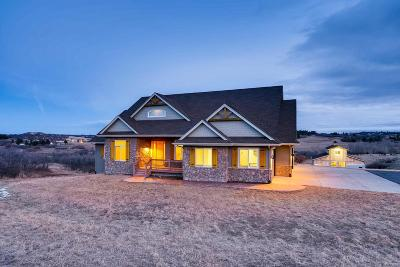 Castle Rock CO Single Family Home Under Contract: $974,923