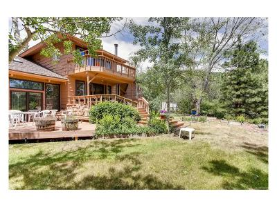 Boulder Single Family Home Under Contract: 142 Granite Drive