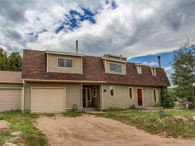 Nederland Single Family Home Under Contract: 298 Lakeview Drive
