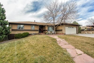 Lakewood Single Family Home Under Contract: 13384 West Utah Circle