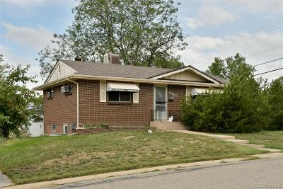 Arvada Single Family Home Active: 6610 Depew Court