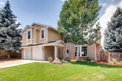 Castle Pines Single Family Home Under Contract: 7197 Whitby Court
