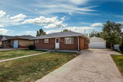 Commerce City Single Family Home Active: 5840 East 67th Place