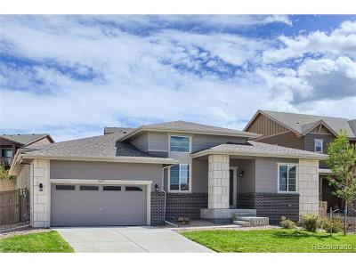 Castle Rock Single Family Home Active: 4275 Manorbrier Circle