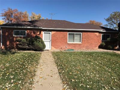 Thornton Single Family Home Active: 1261 East 88th Avenue