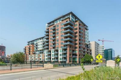 Five Points Condo/Townhouse Active: 1401 Wewatta Street #402