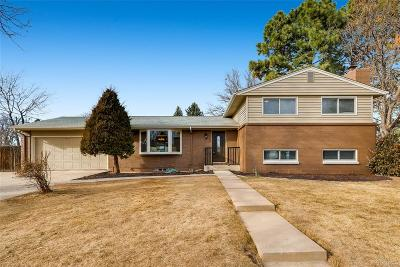 Denver Single Family Home Active: 3285 South Dayton Street