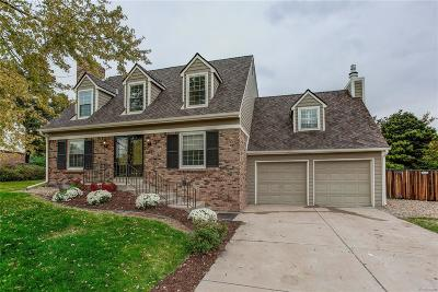 Centennial Single Family Home Active: 7461 South Forest Court