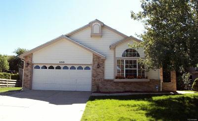 Parker Single Family Home Active: 10910 Omahal Lane