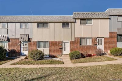 Thornton Condo/Townhouse Under Contract: 8615 Santa Fe Drive