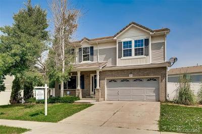 Denver Single Family Home Active: 21331 East 52nd Avenue