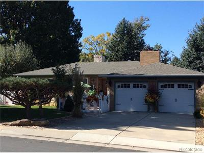Wheat Ridge Single Family Home Active: 4075 Carr Street