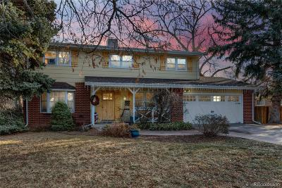 Greeley Single Family Home Under Contract: 1948 25th Avenue
