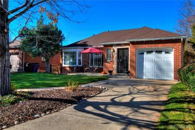 Denver Single Family Home Active: 857 Grape Street