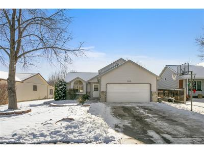 Longmont Single Family Home Under Contract: 1713 Lefthand Drive