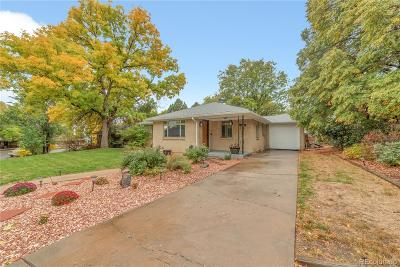 Arvada Single Family Home Under Contract: 5485 Hoyt Drive
