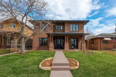 Denver Single Family Home Active: 1010 South Adams Street