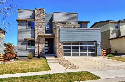 Commerce City Single Family Home Under Contract: 17887 East 107th Way