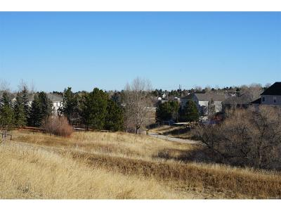 Castle Rock Residential Lots & Land Active: 1132 Northwood Court
