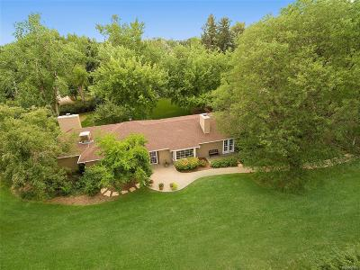 Englewood CO Single Family Home Active: $1,725,000