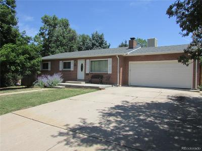 Lakewood CO Single Family Home Active: $430,000