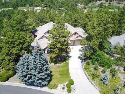 Castle Pines Single Family Home Active: 1325 Forest Trails Drive