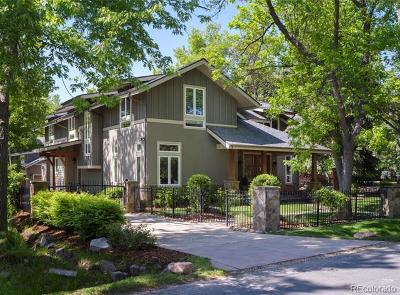 Boulder Single Family Home Active: 912 Juniper Avenue