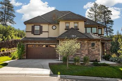Castle Rock Single Family Home Active: 6879 Northstar Court