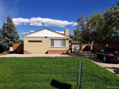 Denver Single Family Home Active: 3330 Ash Street