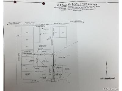 Adams County Residential Lots & Land Active: 3065 Craft Way