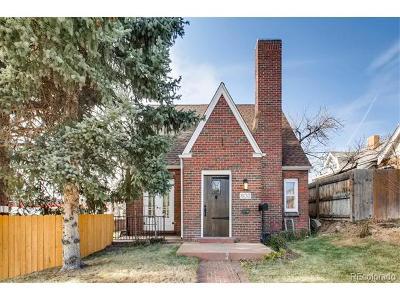Denver Single Family Home Active: 603 Josephine Street