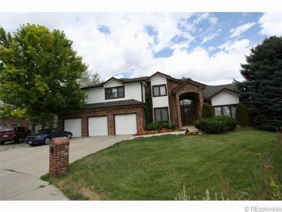 Broomfield Single Family Home Under Contract: 1106 Oakhurst Drive