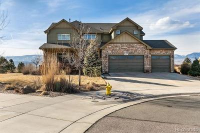 Arvada Single Family Home Active: 7603 Yule Court