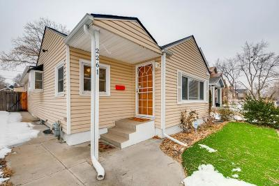 Single Family Home Under Contract: 2261 South Marion Street
