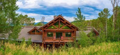 Oak Creek, Phippsburg, Yampa, Toponas Single Family Home Active: 26550 Henderson Park Road