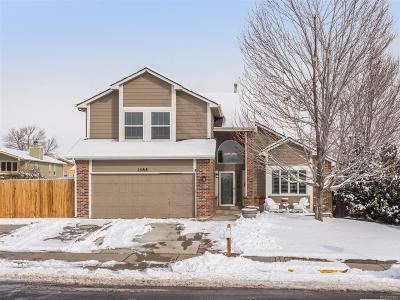 Broomfield Single Family Home Under Contract: 1588 Daphne Street