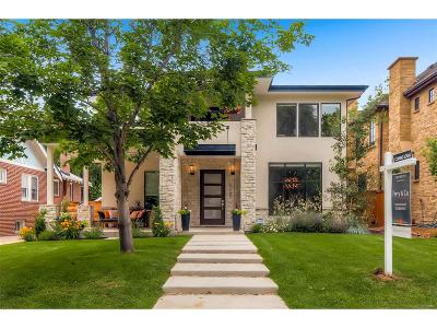 Single Family Home Sold: 2343 South Clayton Street