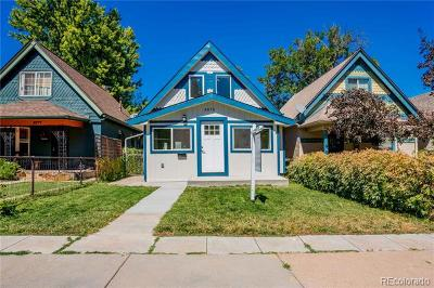 Denver Single Family Home Active: 3475 West 33rd Avenue