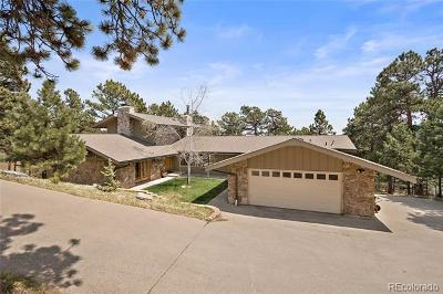 Evergreen Single Family Home Active: 2756 Hiwan Drive